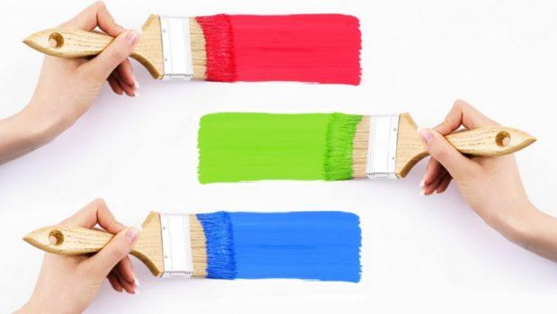 6 советов по выбору и покраске акриловой краской стен, потолков и пола