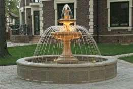 Как происходит строительство фонтана