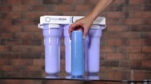 Как поменять картридж фильтра для воды