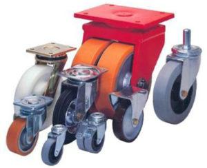 Выбираем аппаратные колеса для тележек