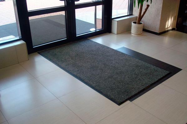 Сервис сменных ковров в действии