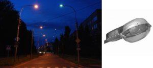 Лампы для уличного освещения: виды