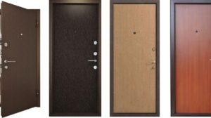 Правила выбора входной металлической двери