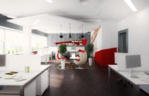 Как создать дизайн офисного помещения