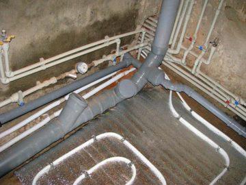 Основные этапы монтажа канализации