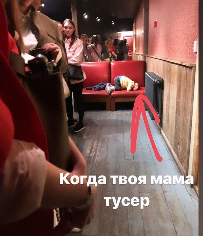 Дарья Мельникова взяла с собой 3-летнего сына на концерт в ночной клуб