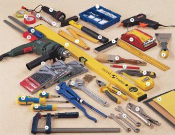 Какие инструменты и материалы могут понадобиться для ремонта?