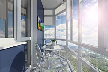 Идеи для остекления и отделки балкона