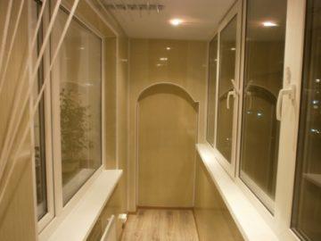 Материалы для отделки и утепления балкона