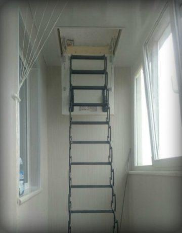 Лестница на балконе: что можно сделать, идеи реконструкции и дизайна