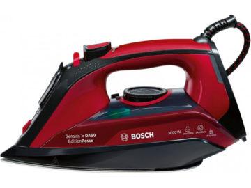 Bosch TDA503011P – красивый и практичный паровой утюг с керамической подошвой, о котором вы давно мечтали