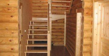 Лестница на мансарду: виды конструкций, изготовление и установка