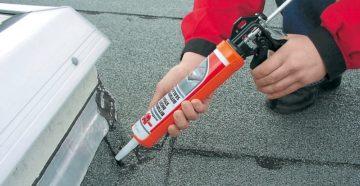 Герметик для крыши: как правильно использовать при строительстве и ремонте