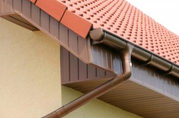 Диаметр водосточной трубы и желоба с крыши: расчет количества