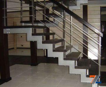 Какая лестница дешевле бетонная или металлическая