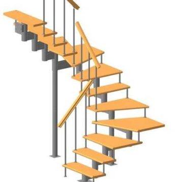 Садовые лестницы: инструкция по монтажу конструкций своими руками (фото и видео)