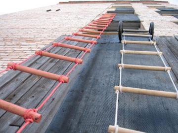Веревочные лестницы: как сделать ее для колодца своими руками