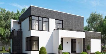Проекты домов с плоской крышей: готовые и типовые
