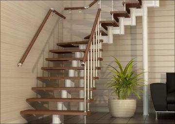 Деревянные лестницы — как правильно выбрать лестницу в частный дом и на 2 этаж