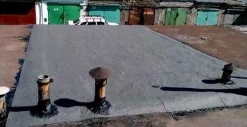 Гидроизоляция крыши гаража, как правильно сделать, в том числе своими руками, а также особенности ее устройства и монтажа