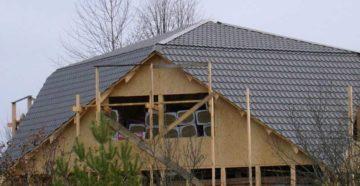 Расчет вальмовой крыши — онлайн калькулятор с чертежами и фото + расчет стропильной системы и площади четырехскатной крыши