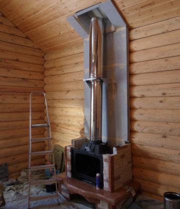 Как сделать дымоход для камина: устройство, схемы, какой лучше и почему