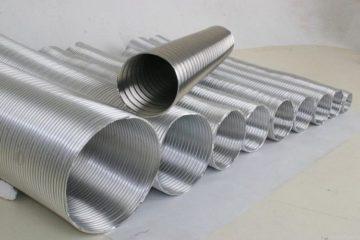 Чем хороша гофрированная труба для дымохода из нержавеющей стали и алюминия, где применяется