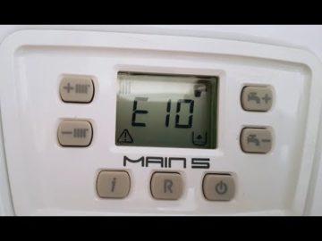 Ошибка Е10 на газовом котле Бакси: самостоятельное устранение проблемы, типы и коды неполадок
