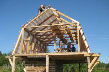 Мансардная ломаная крыша своими руками: устройство, расчет, утепление