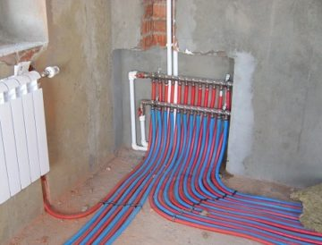 Лучевая система отопления: плюсы, минусы, монтаж, схемы