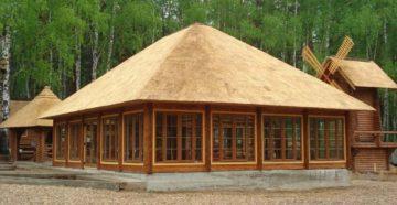 Соломенная крыша своими руками: особенности устройства и монтажа