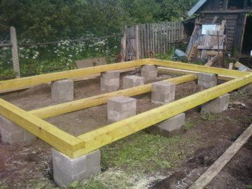 Фундамент для деревянного дома своими руками – технология устройства — инструкция