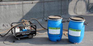 Оборудование для гидроизоляции жидкой резиной