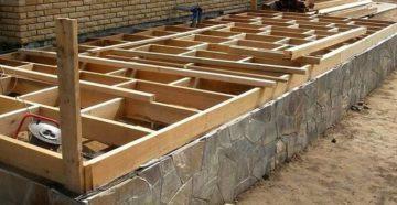 Фундамент под террасу: какой вариант более выгодный и надёжный