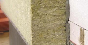 Утепление стен дома каменной ватой изнутри и снаружи своими руками