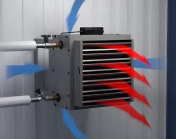 Водяной тепловентилятор своими руками — наиболее экономичный способ обогрева