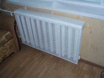Решетка в столешницу над радиатором: виды и установка, характеристики