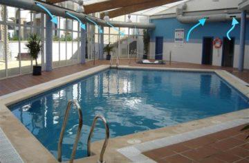 Вентиляция бассейнов – расчеты, схемы, цены, фото, проектирование и монтаж