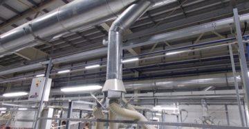 Проектирование вентиляции здания, проектирование системы промышленной вентиляции