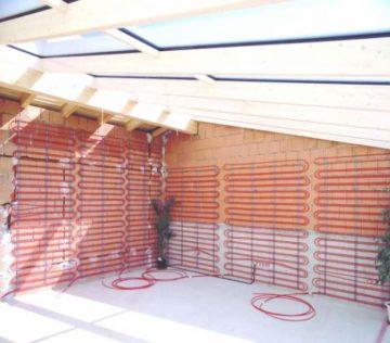 Теплый пол на стену: особенности и виды отопительной системы