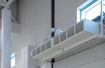 Принцип работы тепловой завесы: как работает, назначение, устройство, эффективность