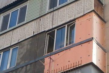 Утепление балкона снаружи пеноплексом, минватой и др