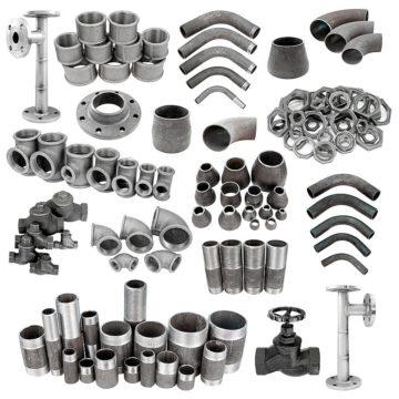 Фитинги для стальных труб, основные разновидности, компрессионные и металлические, обжимной фитинг