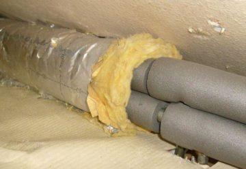 Теплоизоляция для труб отопления утепление на улице