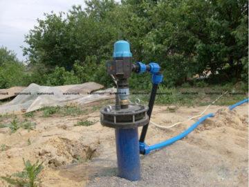 Как обустроить скважину без кессона при помощи адаптера