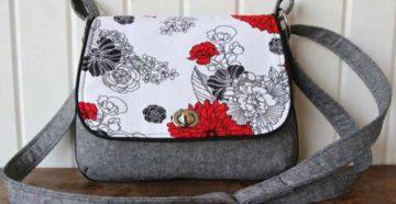 Как сшить сумку из ткани своими руками: выкройки, схемы, пошив