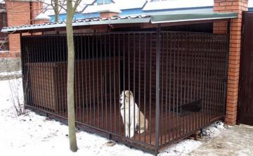 Вольер для собаки своими руками — пошаговая инструкция с чертежами, размерами, фото и видео