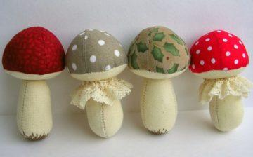 Поделки грибов своими руками: простые идеи и варианты как сделать украшение для дома и сада