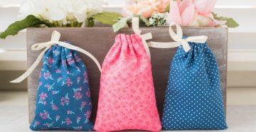 Как сшить мешочек с завязками утяжкой своими руками: мастер-класс