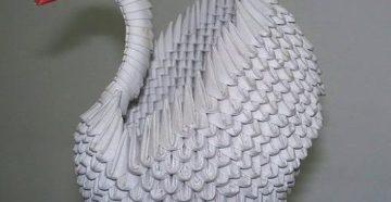 Поделка оригами животные  из бумаги для начинающих самые легкие пошагово